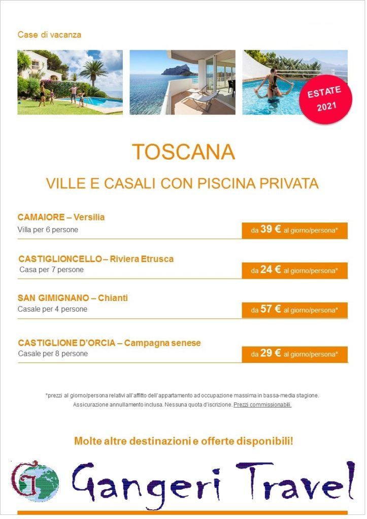 appartamenti i Toscana