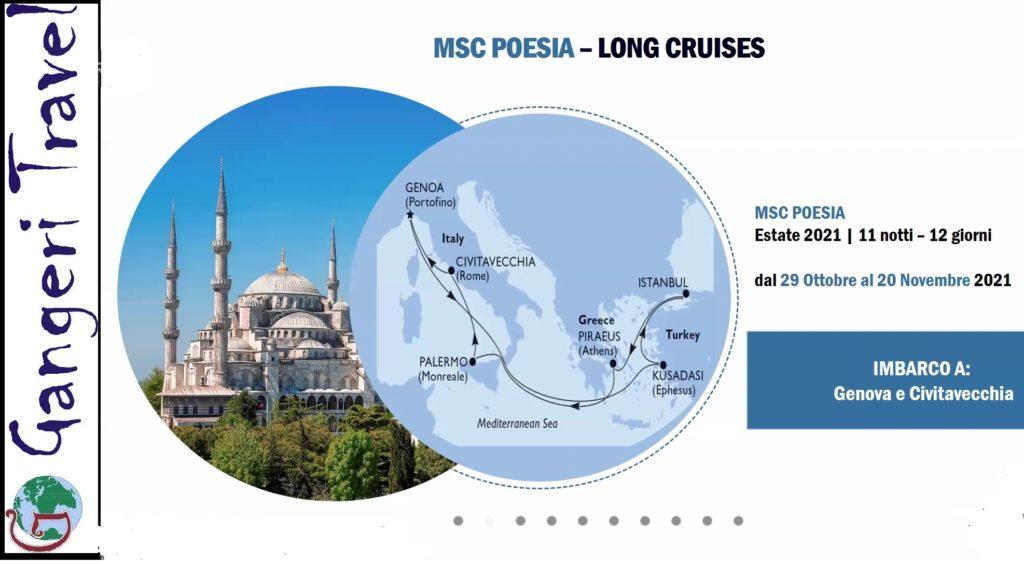 Nuovo itinerario Msc