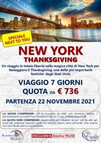 New York Giorno del Ringraziamento